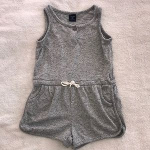 BabyGap Marled Gray Romper-Size 4T